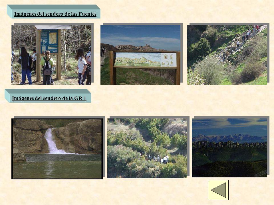 Imágenes del sendero de las Fuentes