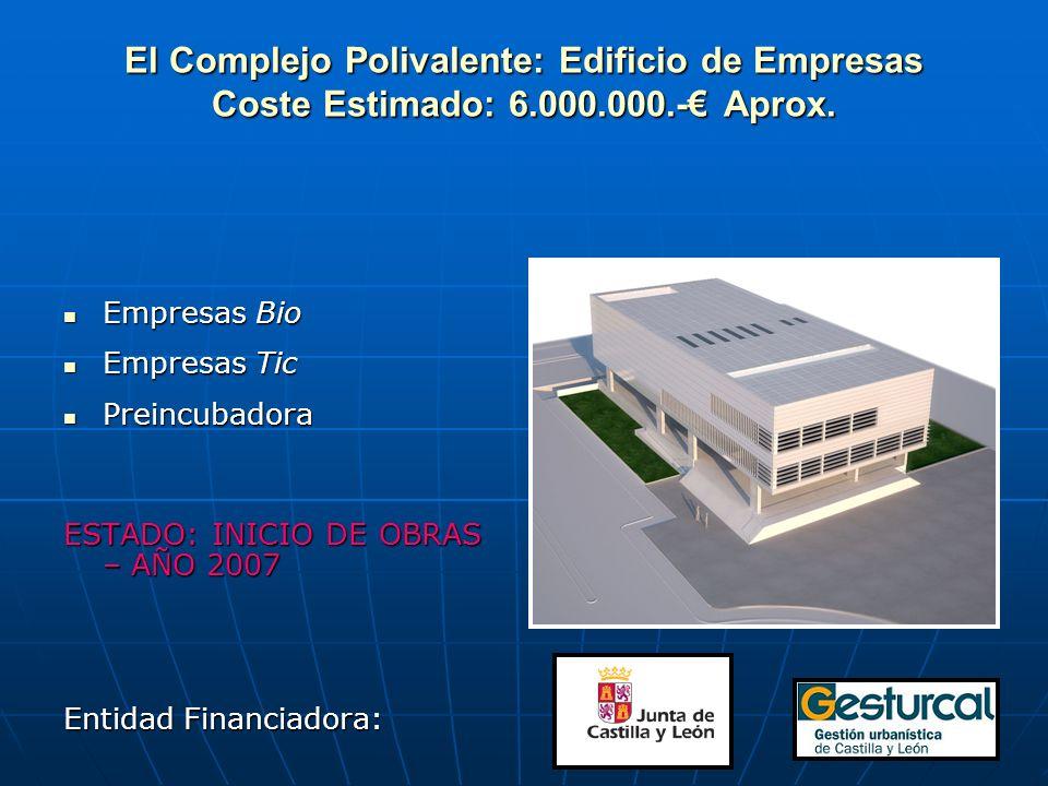 El Complejo Polivalente: Edificio de Empresas Coste Estimado: 6. 000