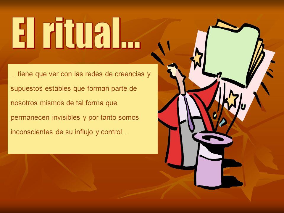 El ritual...