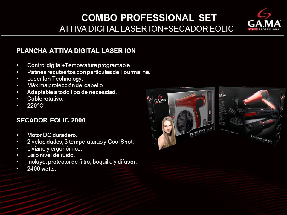 COMBO PROFESSIONAL SET