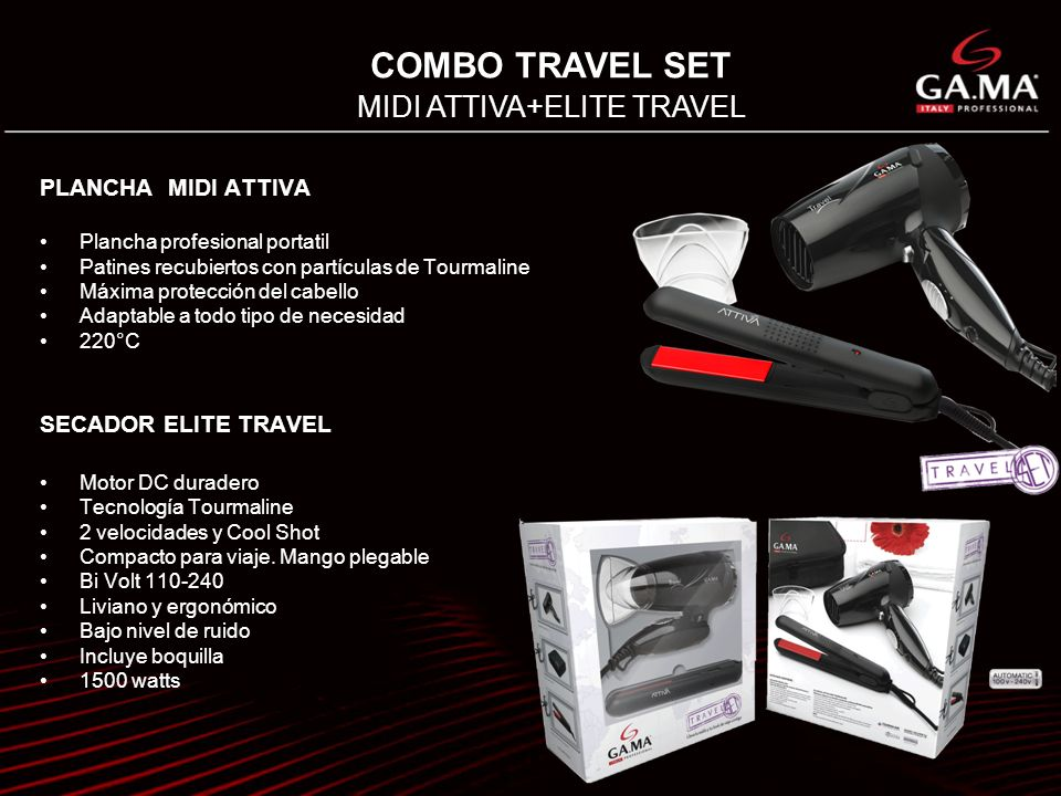 MIDI ATTIVA+ELITE TRAVEL