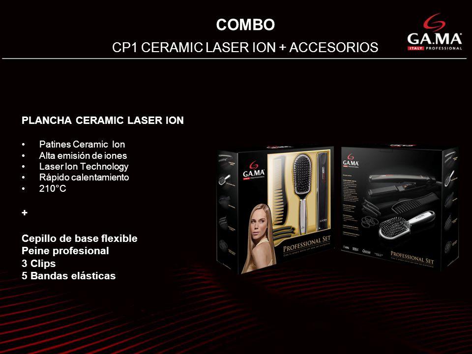 CP1 CERAMIC LASER ION + ACCESORIOS