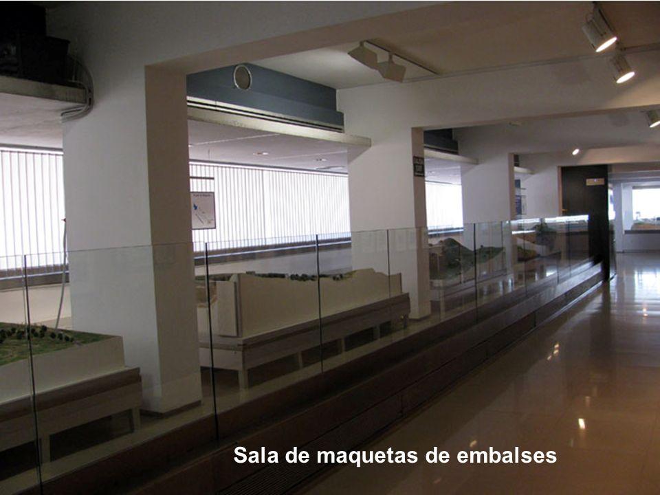 Sala de maquetas de embalses