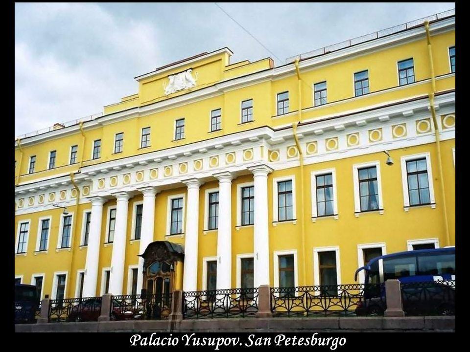 Palacio Yusupov. San Petesburgo