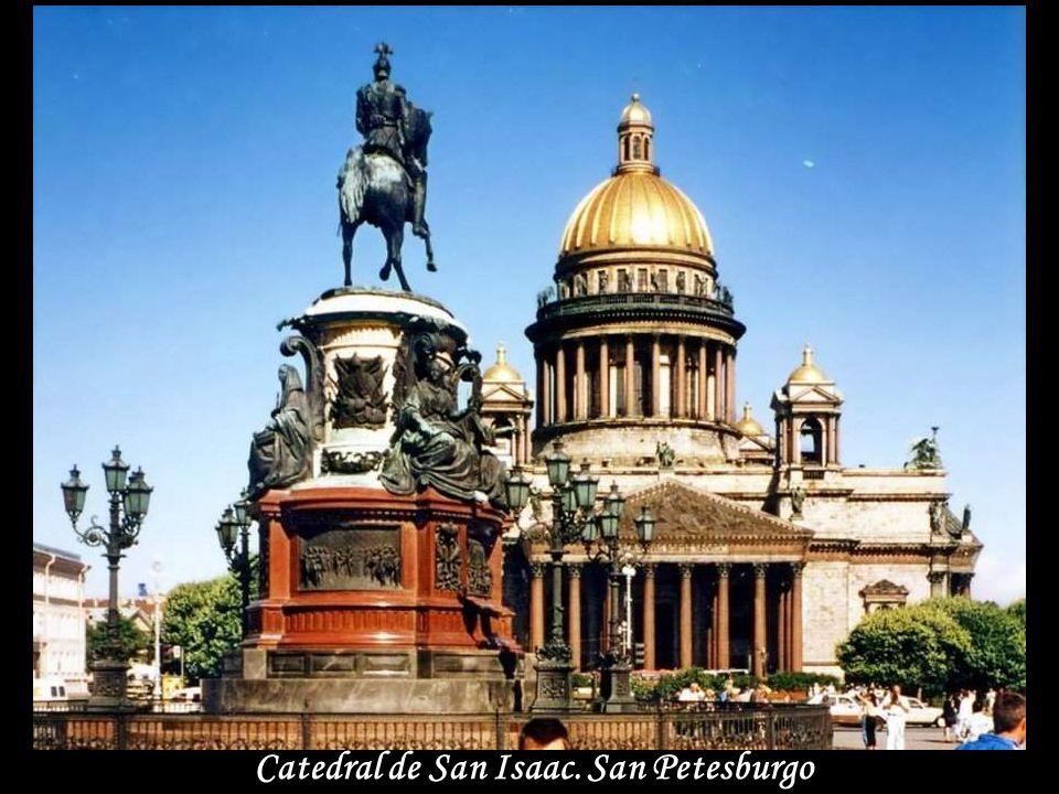 Catedral de San Isaac. San Petesburgo
