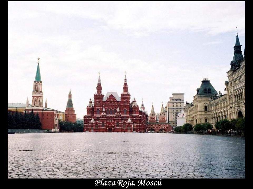Plaza Roja. Moscú