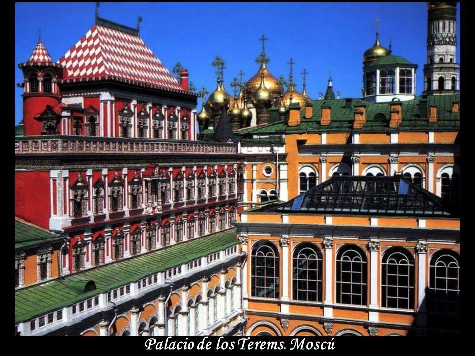 Palacio de los Terems. Moscú