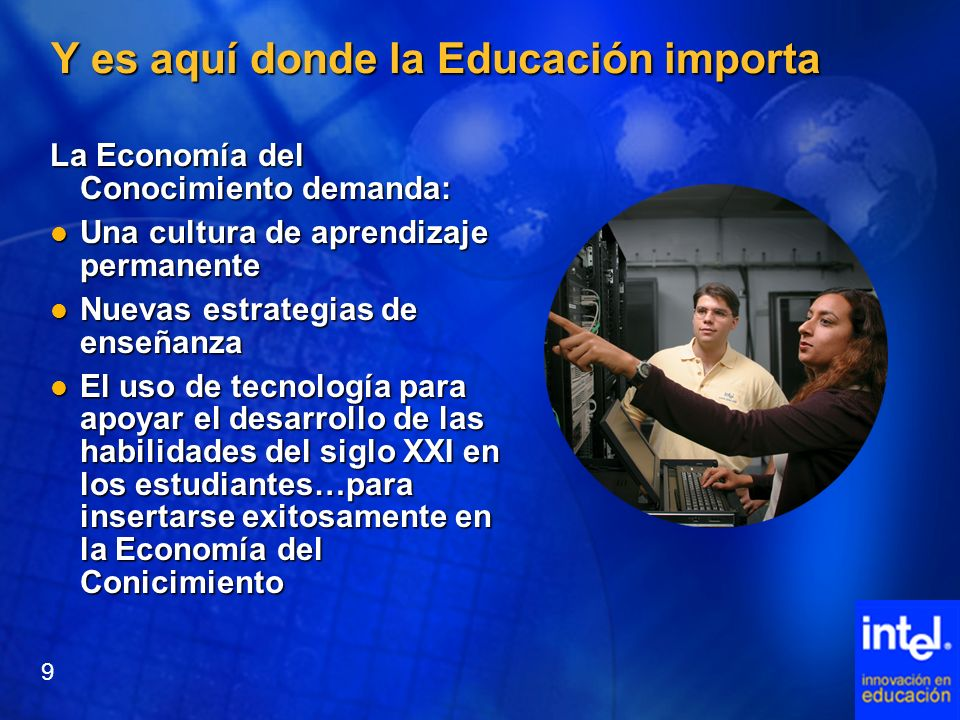 Y es aquí donde la Educación importa
