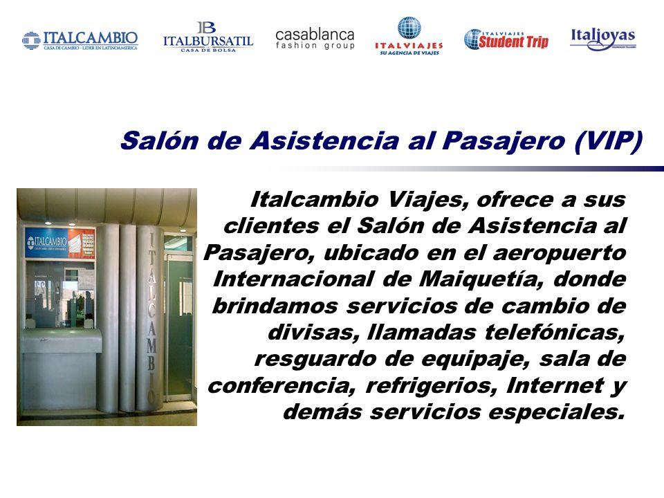 Salón de Asistencia al Pasajero (VIP)