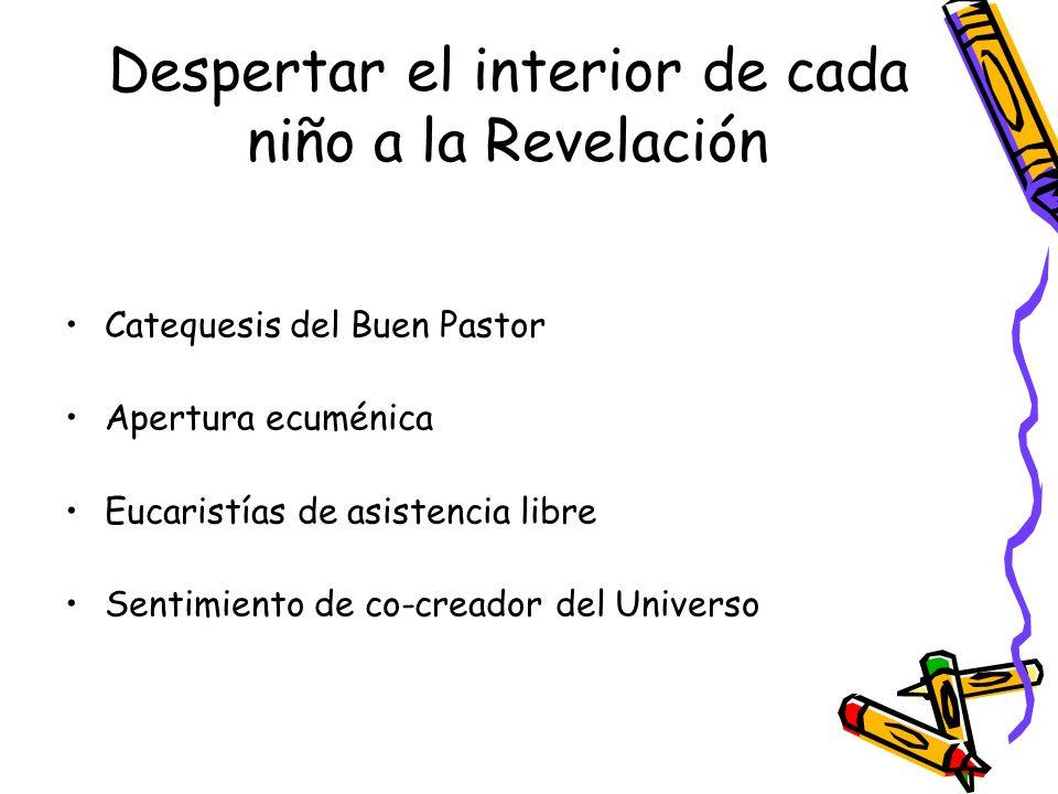 Despertar el interior de cada niño a la Revelación