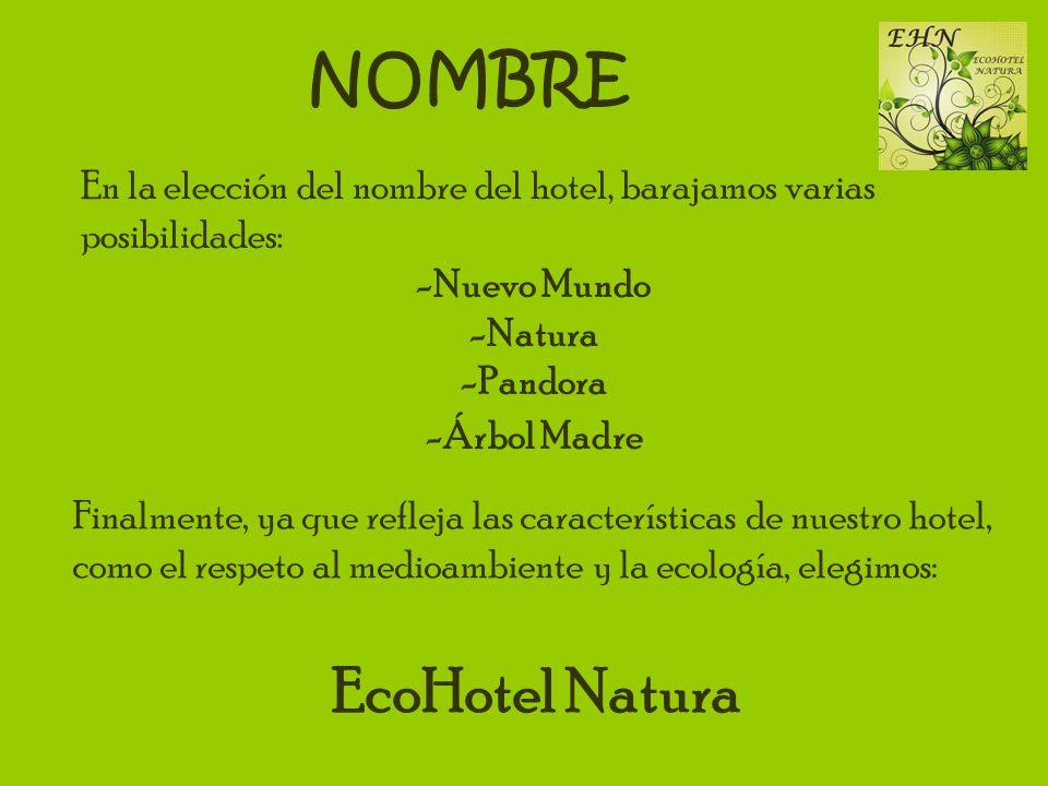 NOMBRE EcoHotel Natura