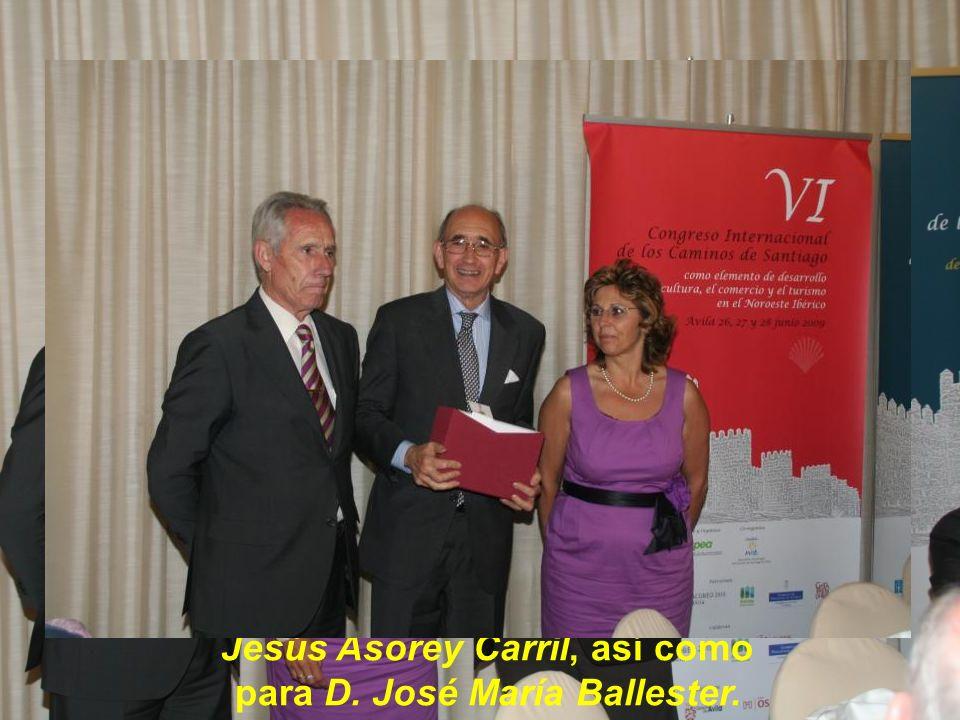 Obsequio de tres tomos de la obra Ávila Monumental para D
