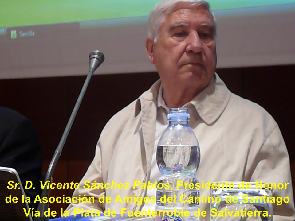 Sr. D. Vicente Sánchez Pablos