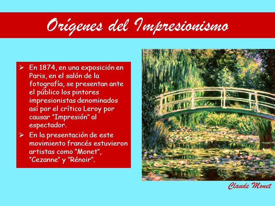 Orígenes del Impresionismo