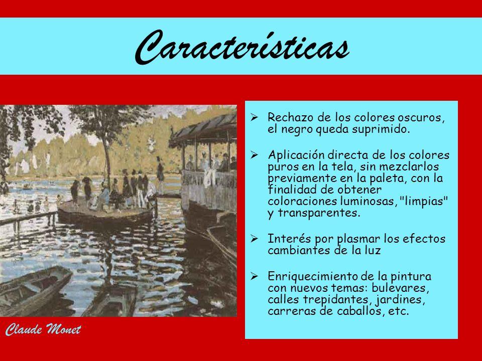 Características Claude Monet
