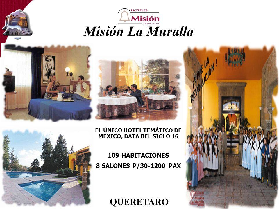 EL ÚNICO HOTEL TEMÁTICO DE MÉXICO, DATA DEL SIGLO 16