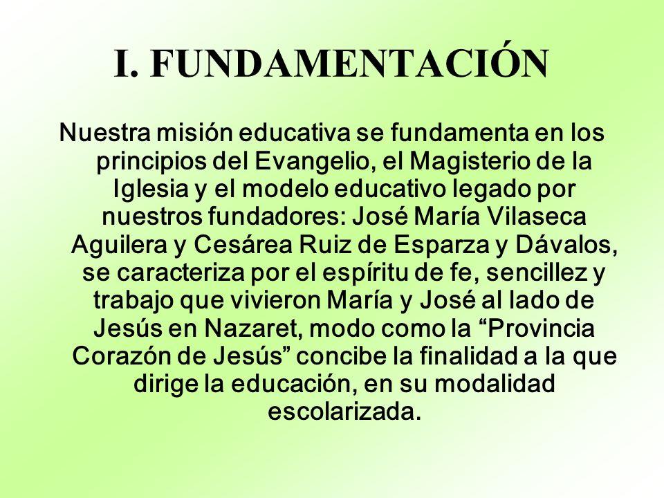 I. FUNDAMENTACIÓN