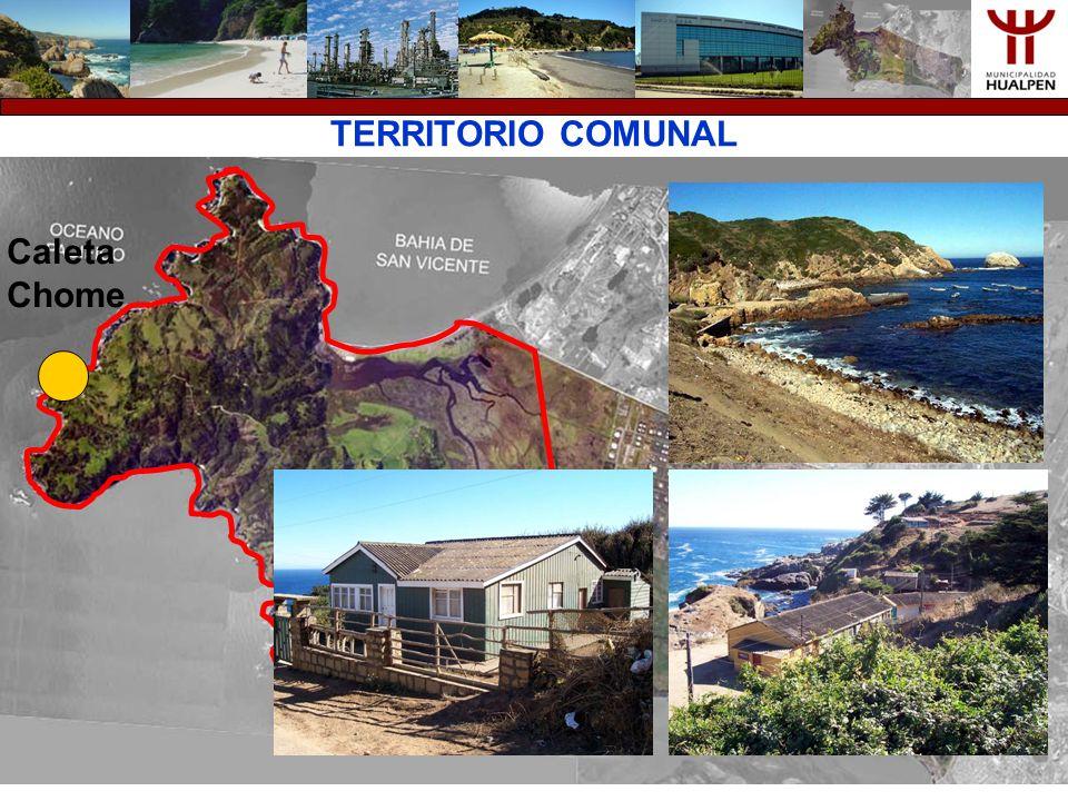 TERRITORIO COMUNAL Caleta Chome