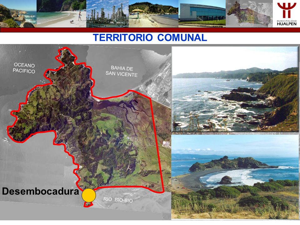 TERRITORIO COMUNAL Desembocadura