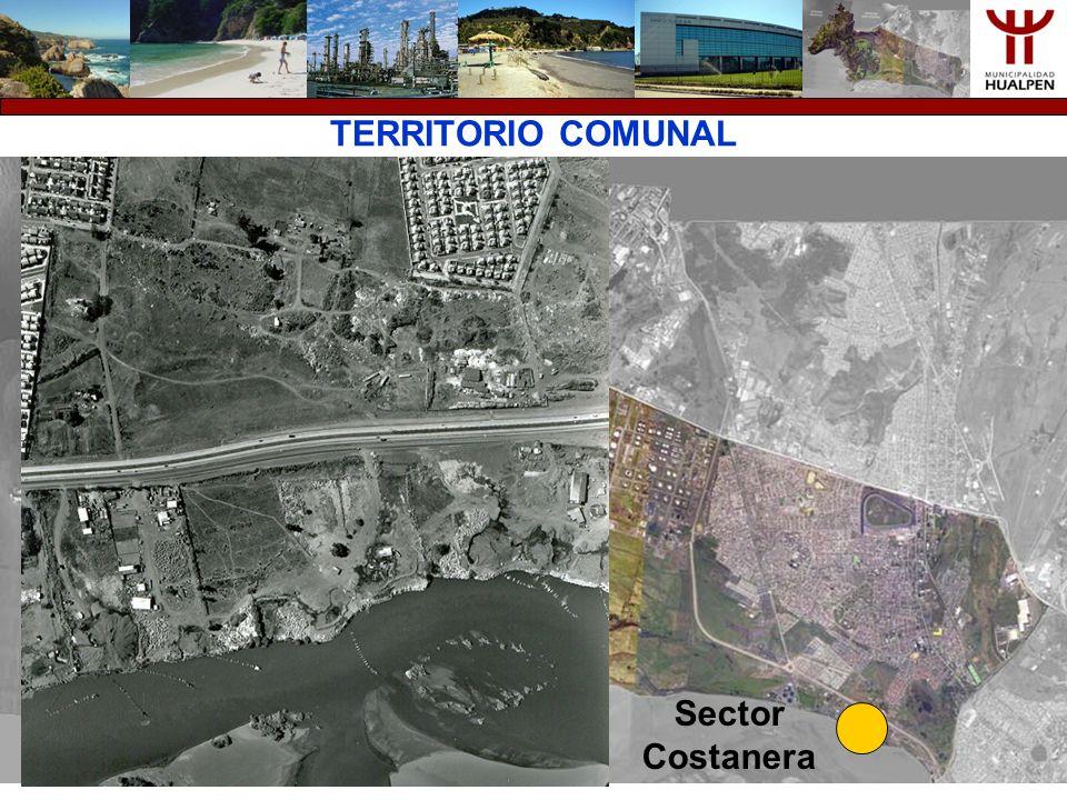 TERRITORIO COMUNAL Sector Costanera