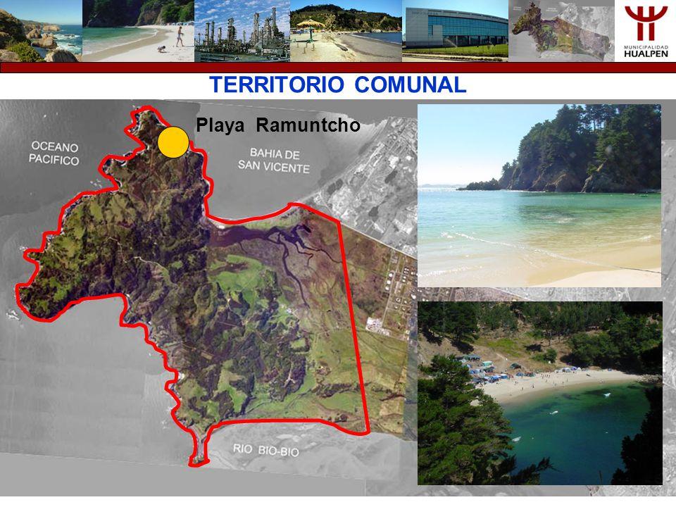 TERRITORIO COMUNAL Playa Ramuntcho