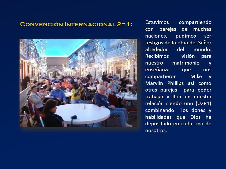 Convención Internacional 2=1: