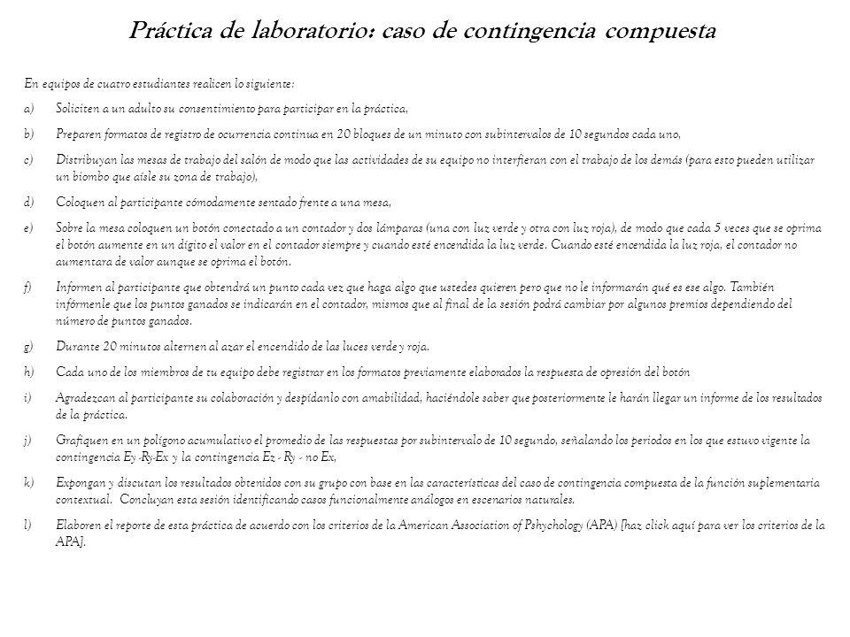 Práctica de laboratorio: caso de contingencia compuesta