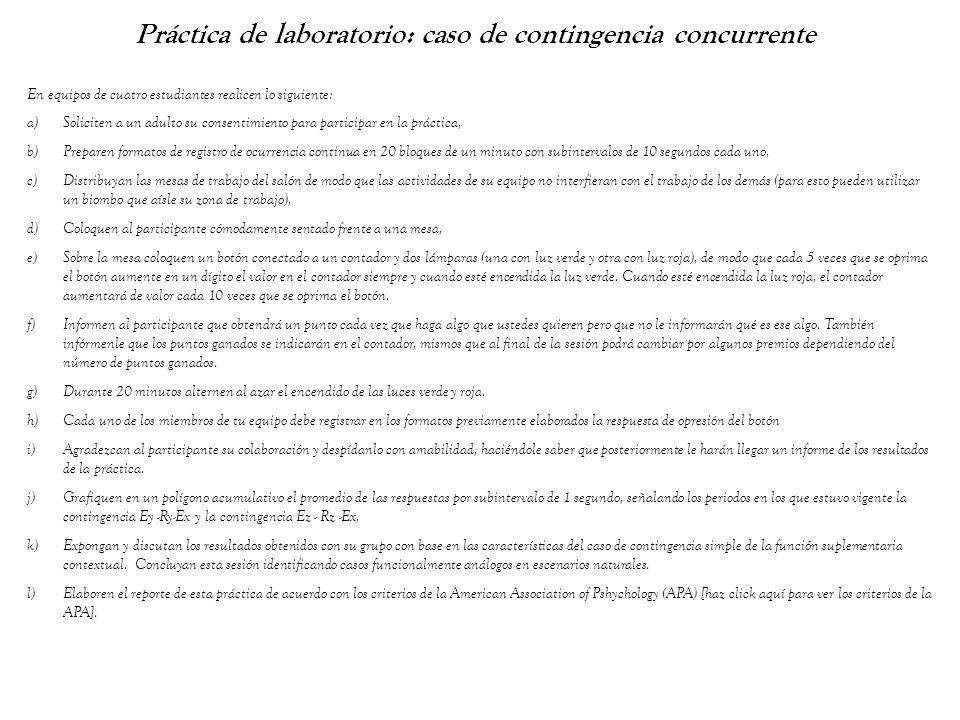 Práctica de laboratorio: caso de contingencia concurrente