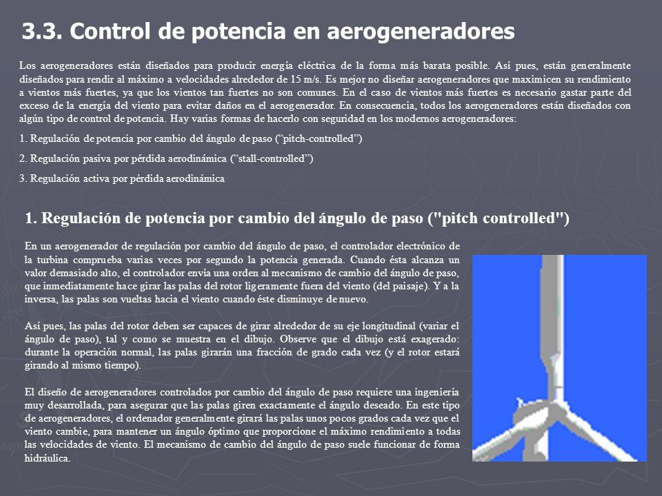 3.3. Control de potencia en aerogeneradores