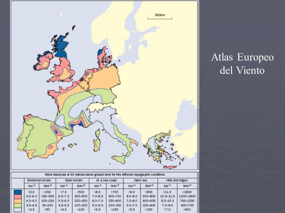 Atlas Europeo del Viento