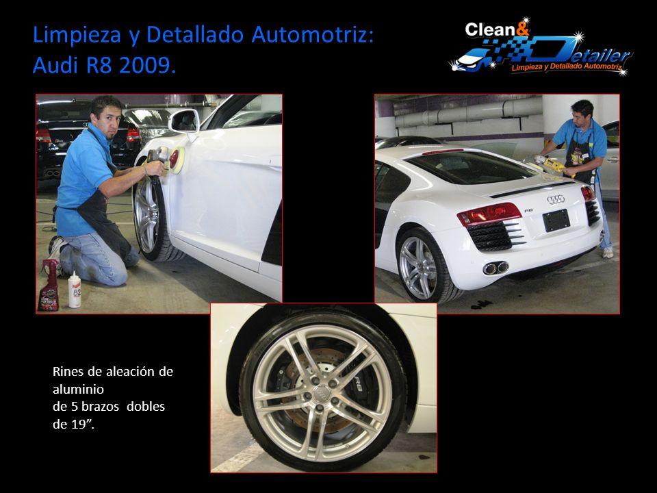 Limpieza y Detallado Automotriz: Audi R8 2009.