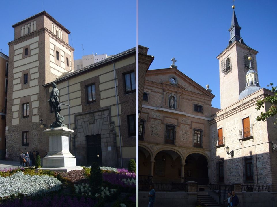 Torre de los Lujanes Iglesia de San Ginés