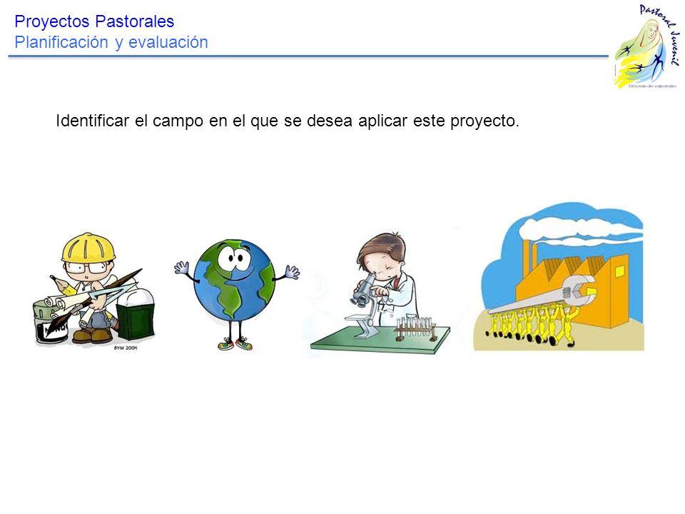 Proyectos Pastorales Planificación y evaluación.
