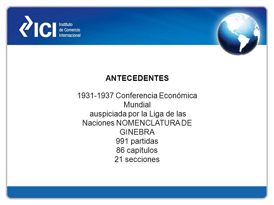 1931-1937 Conferencia Económica Mundial