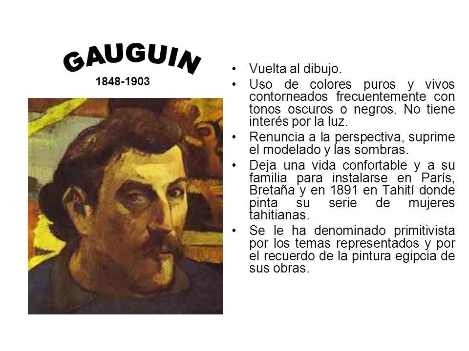 GAUGUIN Vuelta al dibujo.