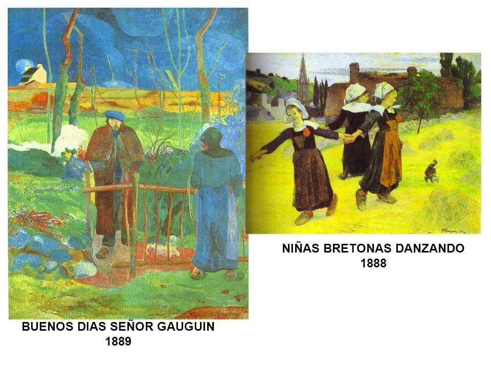 NIÑAS BRETONAS DANZANDO BUENOS DIAS SEÑOR GAUGUIN