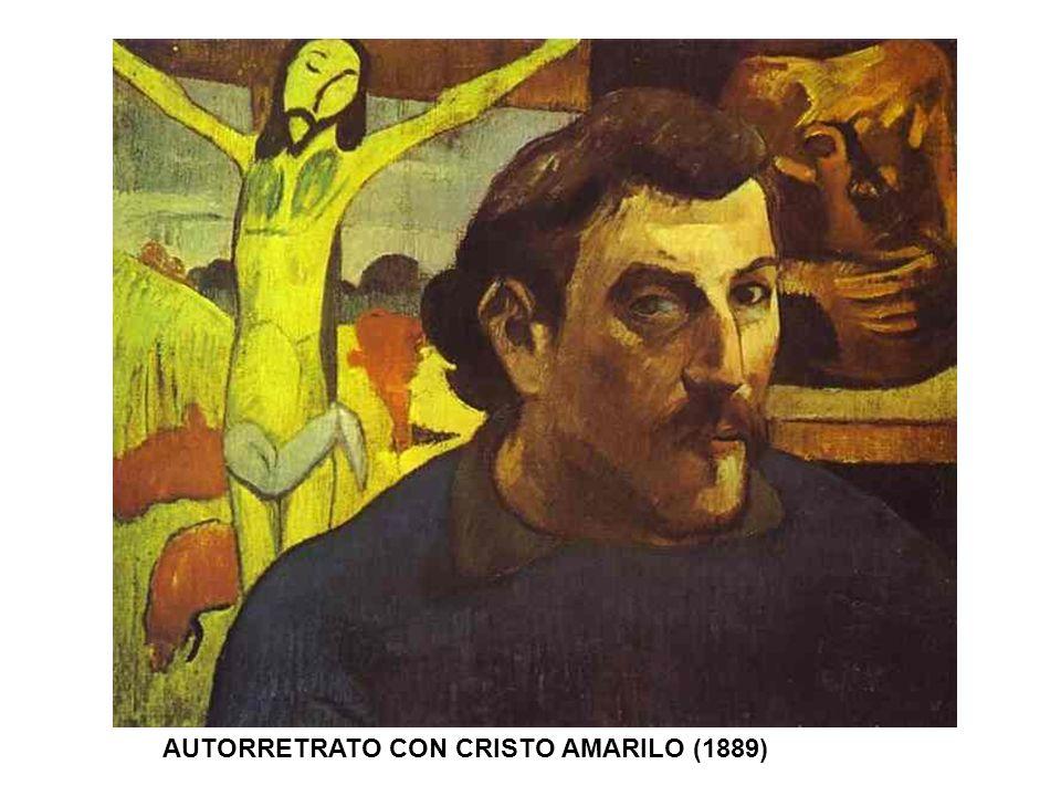AUTORRETRATO CON CRISTO AMARILO (1889)