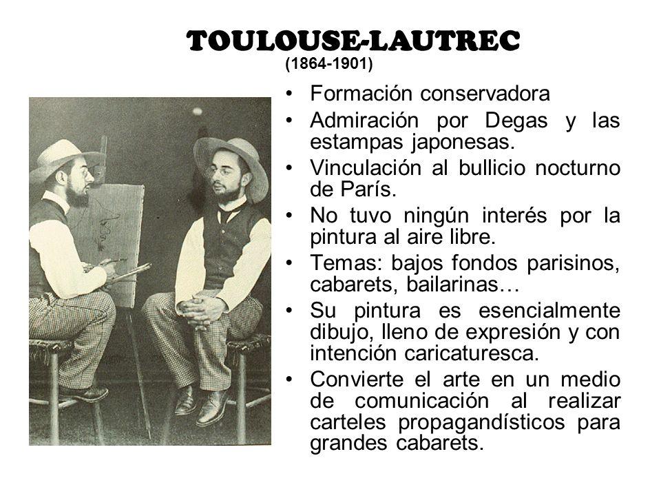TOULOUSE-LAUTREC Formación conservadora