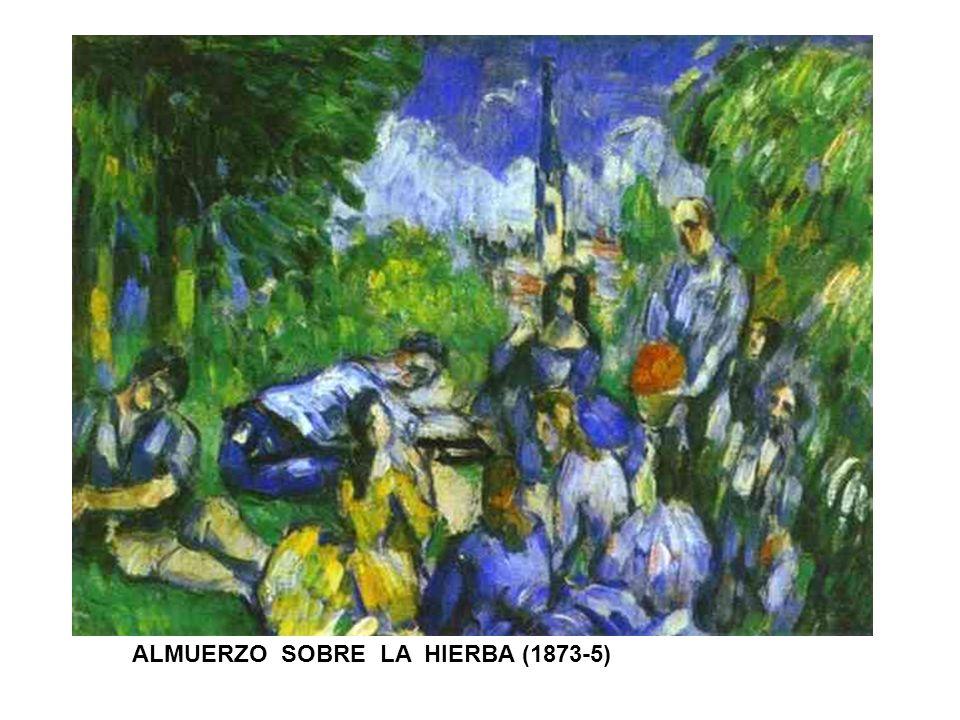 ALMUERZO SOBRE LA HIERBA (1873-5)