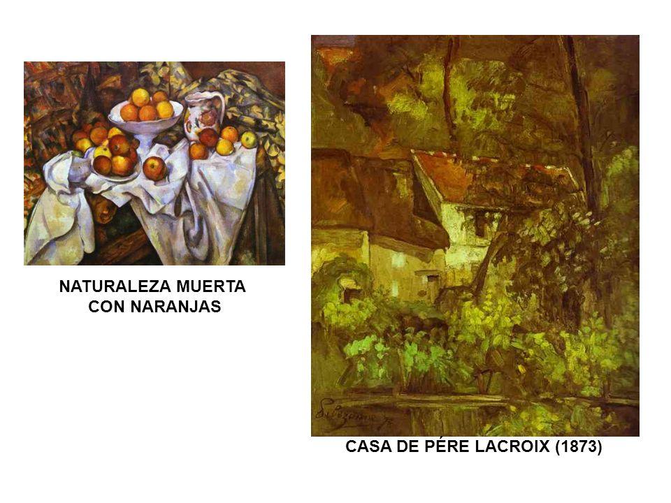 NATURALEZA MUERTA CON NARANJAS CASA DE PÉRE LACROIX (1873)