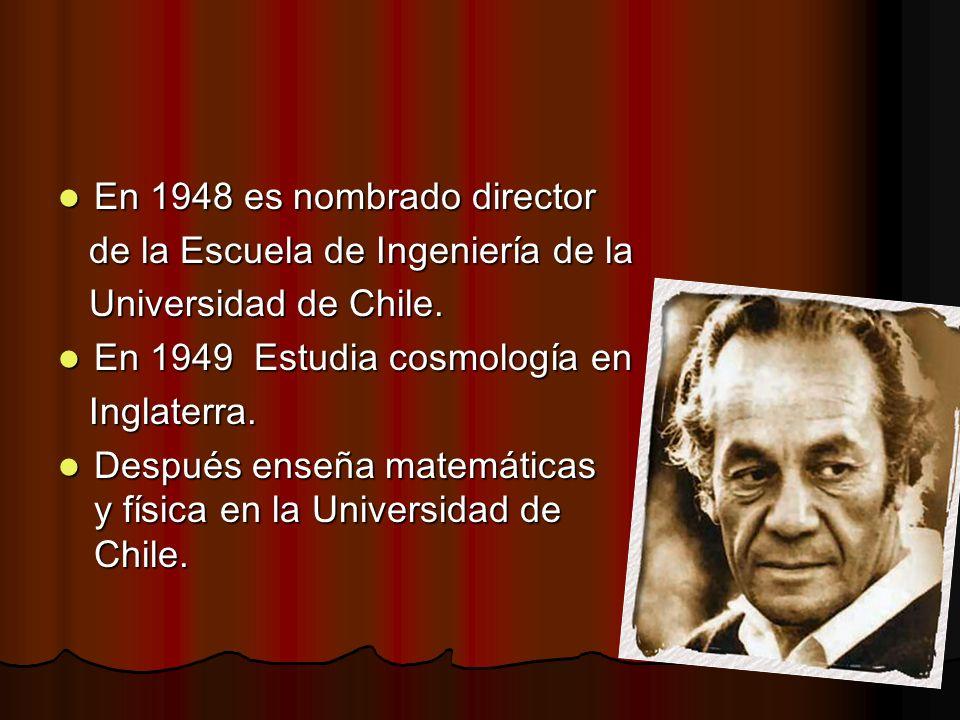 En 1948 es nombrado director