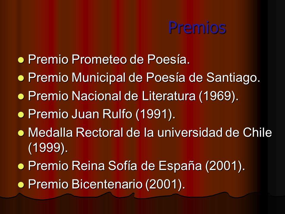 Premios Premio Prometeo de Poesía.