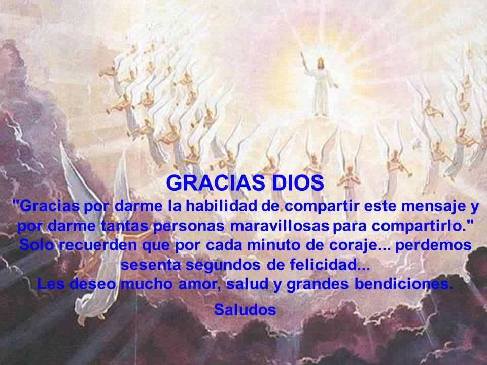 Les deseo mucho amor, salud y grandes bendiciones.