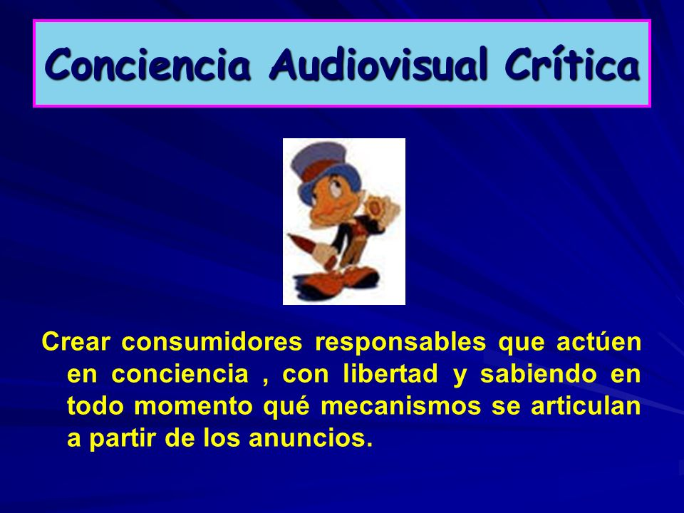 Conciencia Audiovisual Crítica