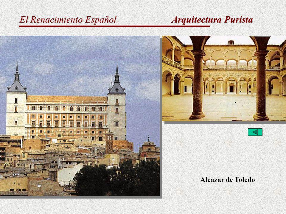 Arquitectura Purista Alcazar de Toledo