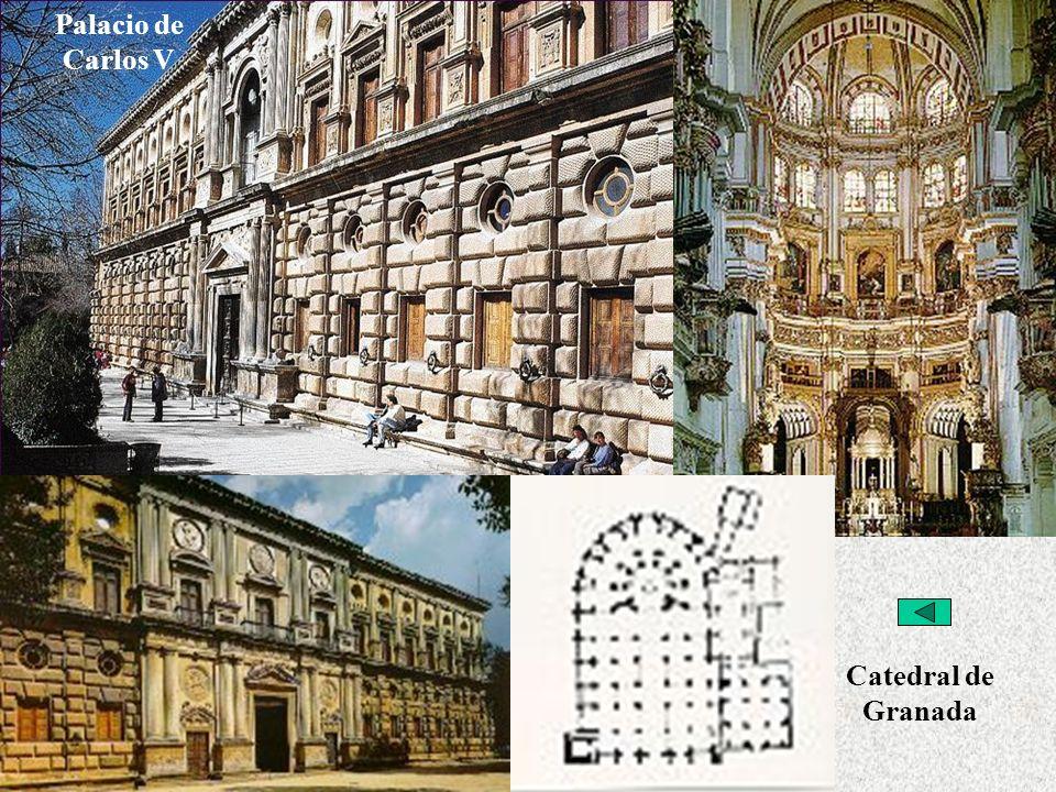 Palacio de Carlos V Arquitectura Purista Catedral de Granada