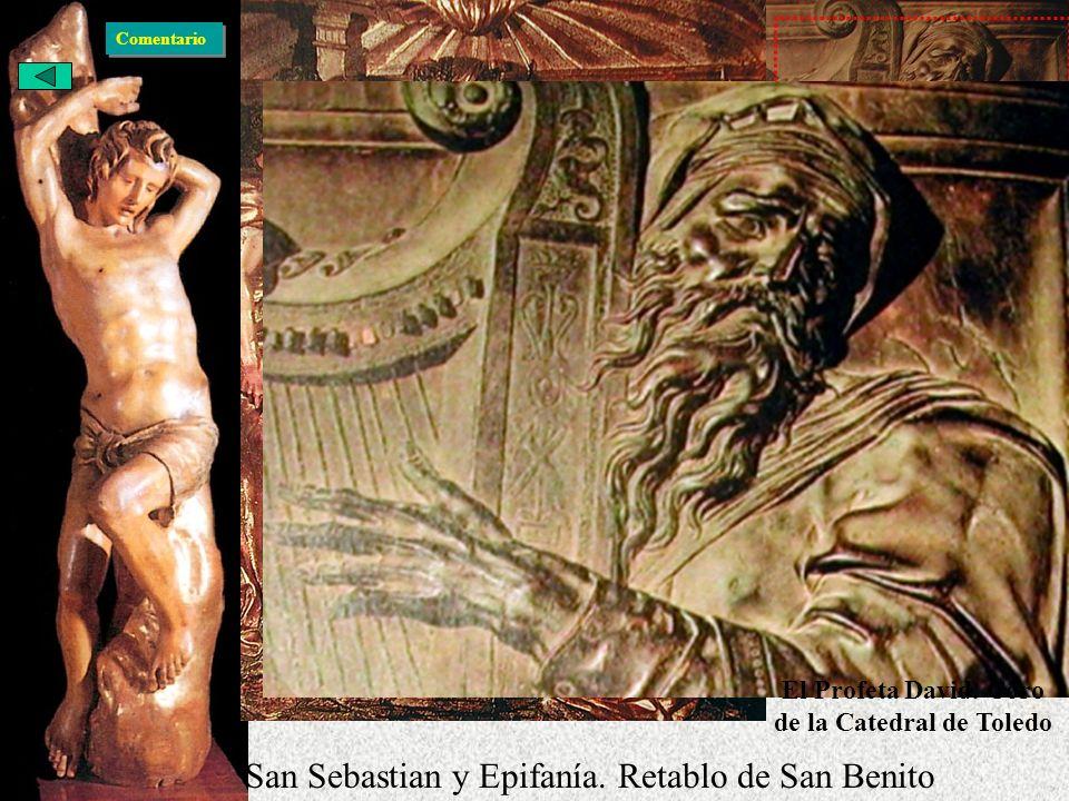 El Profeta David. Coro de la Catedral de Toledo