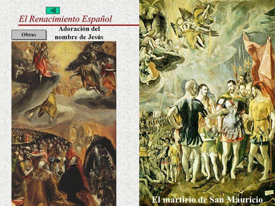 Adoración del nombre de Jesús El martirio de San Mauricio