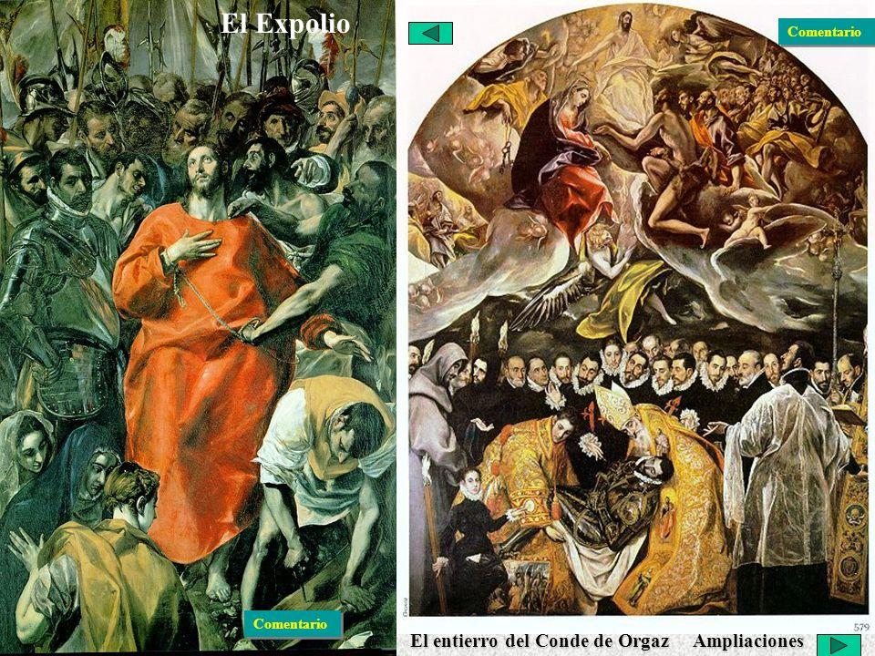 El Expolio Pintura: El Greco
