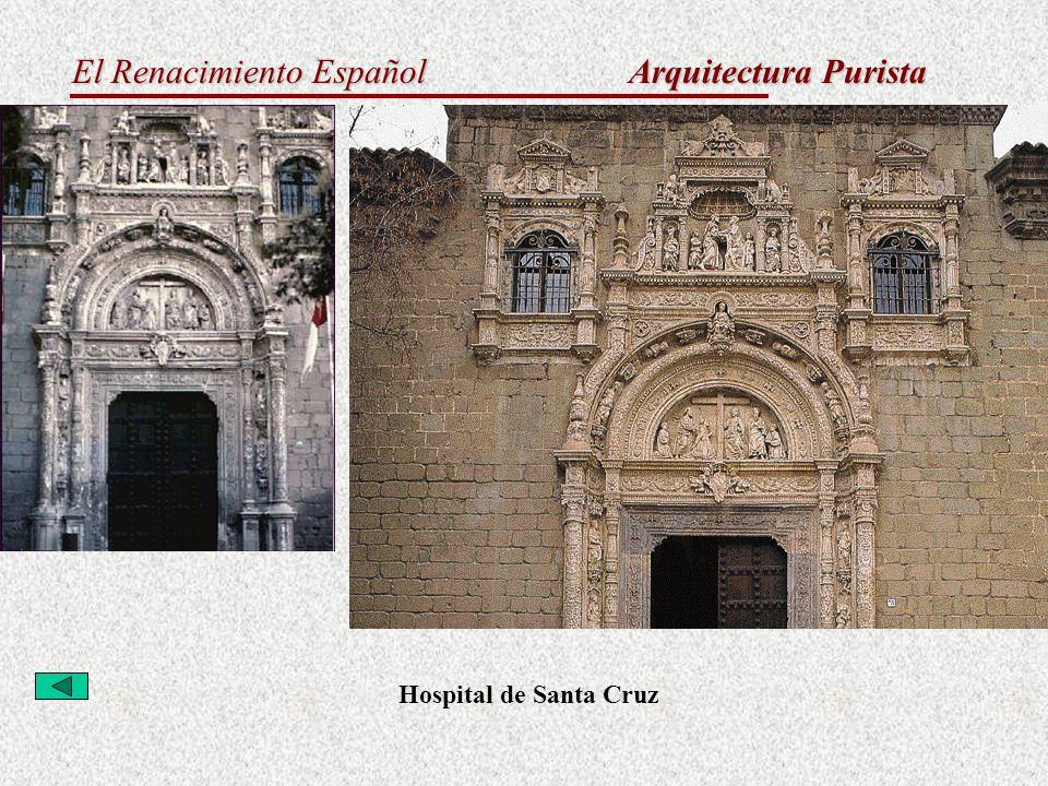 Arquitectura Purista Hospital de Santa Cruz